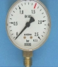 Manometer acetyleen 0-2,5 bar