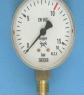 Manometer zuurstof 0-10/16 bar